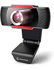 Webcam 1080P HD with Microphone,USB Desktop Laptop Webcam-Noise Reduction Mic, 105°Wide-Angle View for Streaming, Zoom Confrence,Gaming,YouTube Skype FaceTime.