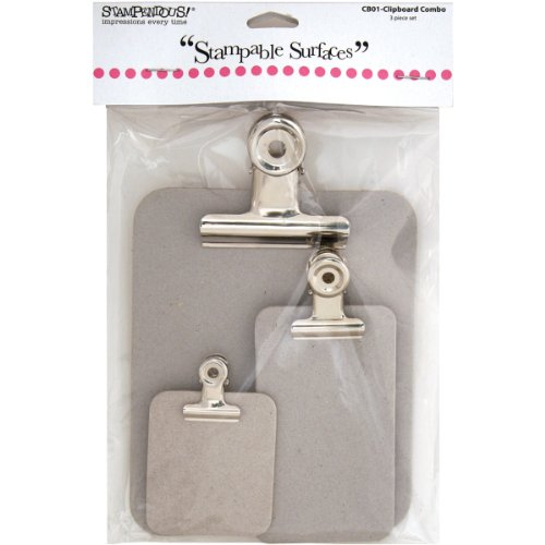Stampendous Chipboard Clipboard Combo -