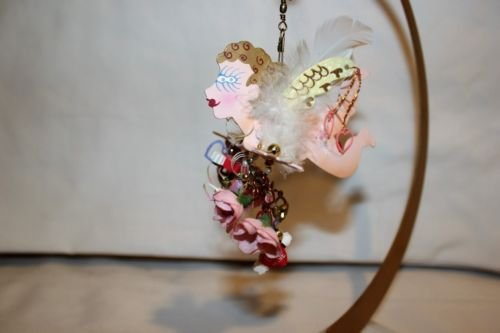 - Fanciful Flights By Karen Rossi Valentine's Day Cupid Ornament