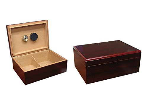 Prestige Import Group - The Executive Cigar Humidor - Color: Cherry - Executive Cigar Humidor