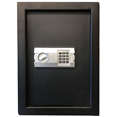 - Sportsman Series 700572 Electronic Hidden Wall Safe for Large Jewelry or Small Handgun Security