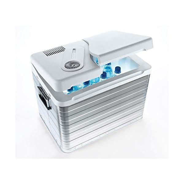 41VntfAIC5L Mobicool Q40 AC/DC - Tragbare Elektrische Alu-Kühlbox, 39 Liter, 12 V und 230 V für Auto, Lkw, Boot, Reisemobil und…