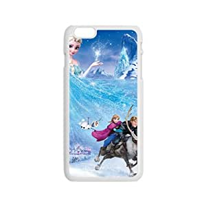 Frozen Princess Elsa Anna Kristoff Olaf Sven Cell Phone Case for Iphone 6
