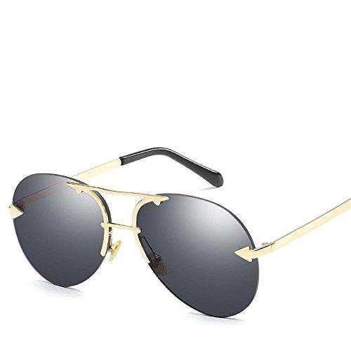 Aoligei Européens et américains sans frame Ocean film lunettes de soleil pilote flèche shing lunettes de soleil 2TrntHIpya