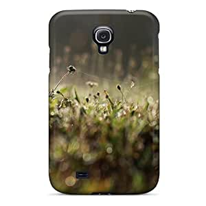 Anti-scratch And Shatterproof Lawn At Night Phone Case For Galaxy S4/ High Quality Tpu Case