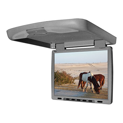 Tview T144DVFD-GR Car Flip Down DVD Monitor (Grey)
