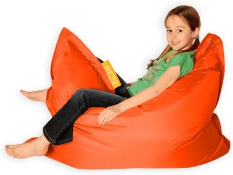 Kids Baz Bag Orange Chaise Pouf Poire Pour L Interieur Et L Exterieur Pouf Poire Pour Enfant Amazon Fr Cuisine Maison