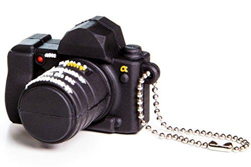 (Indie Camera Gear 16gb Camera Shaped USB Flash Drive)