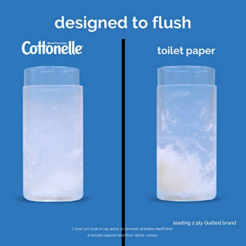 41Vnw9WrsWL - Cottonelle FreshCare Flushable Wipes for Adults, Wet Wipes, Alcohol Free, 1 Pack of 42 Wet Wipes