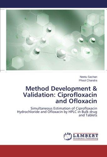 Ciprofloxacin Hydrochloride - Method Development & Validation: Ciprofloxacin and Ofloxacin: Simultaneous Estimation of Ciprofloxacin Hydrochloride and Ofloxacin by HPLC in Bulk drug and Tablets