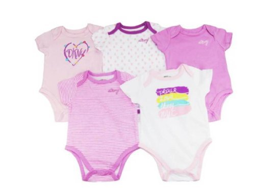 dkny-baby-girls-short-sleeve-5pc-bodysuits-pink-6-9-mos