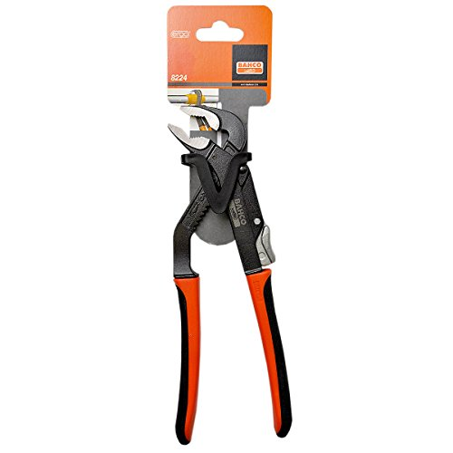 Bahco 8224 Adjustable Joint Pliers, 10-Inch ()