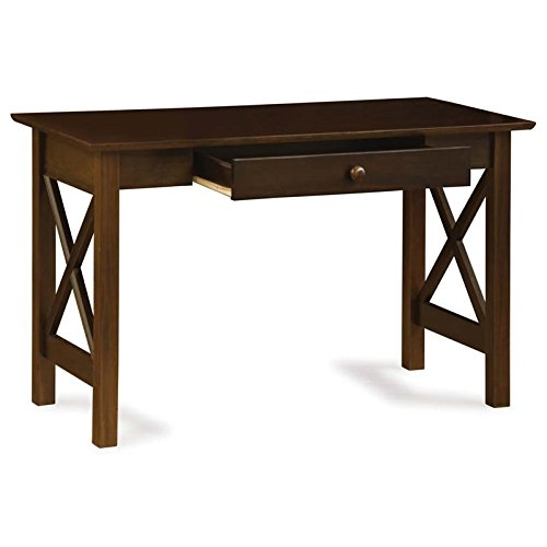 (Atlantic Furniture Lexi Writing Desk, Antique)