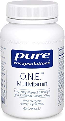 Pure Encapsulations O.N.E. Multivitamin, 60 Count