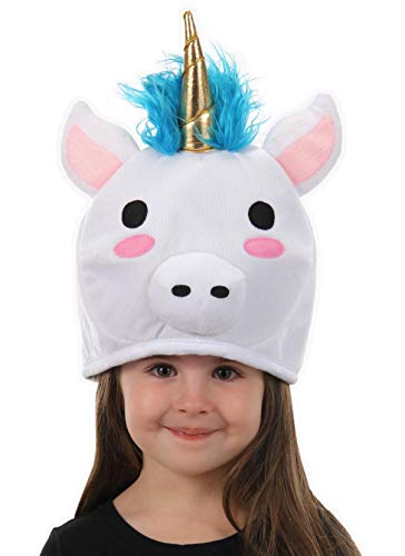 elope Cute Plush Unicorn QuirkyKawaii Hat White