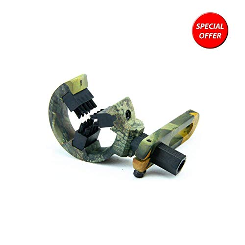 DarkForest Arrow Rest for Compound Bow, for Left or Right Hand (Camouflage), [Clear-Stock on Deficit]