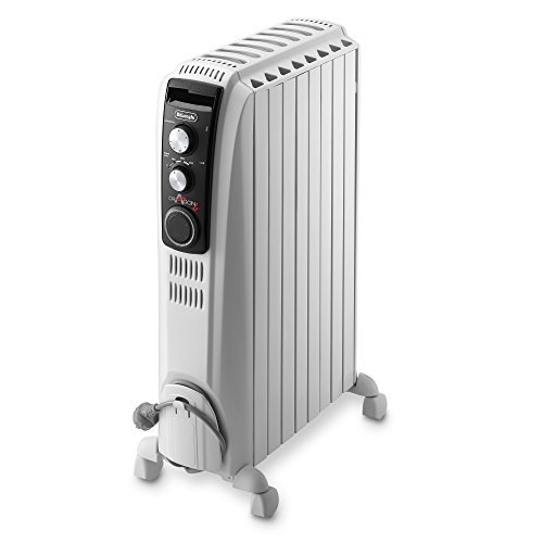 De'Longhi Dragon 4 TRD40820T Oil Filled Radiator- White
