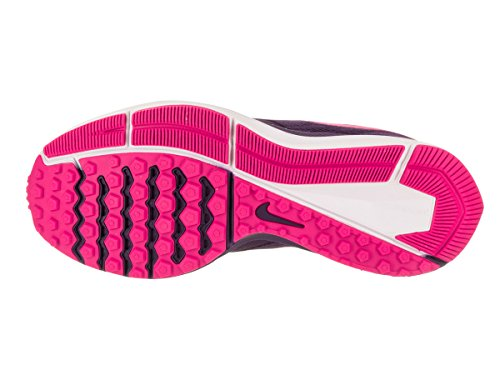 Nike Wmns Zoom Winflo 4, chaussures de course femme Ink/Deadly Pink-fire Pink