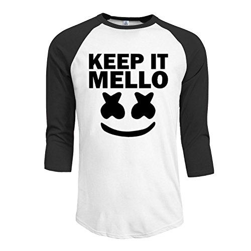 marshmello keep it mello Men's originals Raglan T - Singapore Usps Shipping