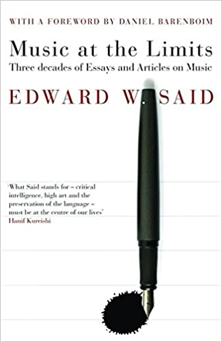 music at the limits amazon co uk edward said books
