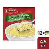 Lipton Instant Soup Mix, Noodle, 4.5 oz (12 Pack)