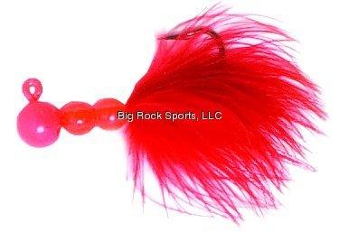 Eagle Claw ECSSJ14-018 Salmon//Steelhead Jig Flo Red