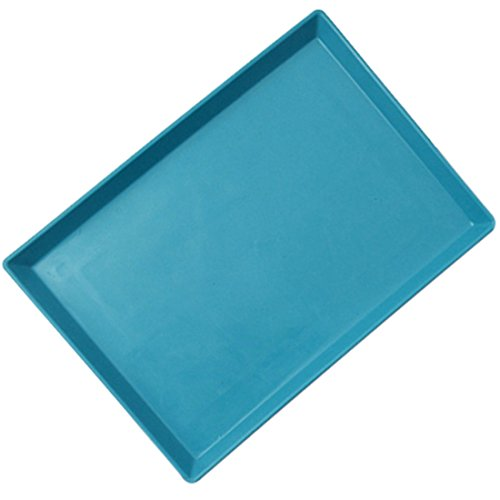Zhaoke Pet Toilet Tray Litter Holder for Puppy Dog Potty Training Pad Blue...