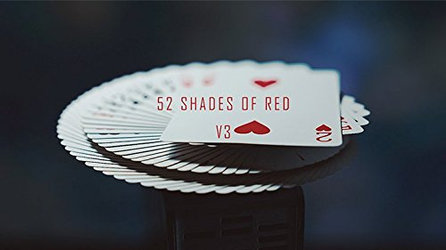 52 Shades of Red Gimmicks included Version 3 by Shin Lim Trick