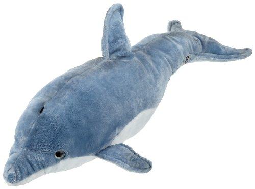 Bauer Blickfänger 14074 - Delfín de peluche, 50 cm [importado de Alemania]: Amazon.es: Juguetes y juegos