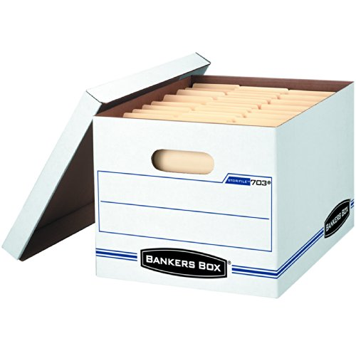 File Lift Lid Box - 1