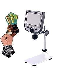 600X 4.3 Pantalla LCD Digital Electrónica Microscopio para Reparación de Teléfono Móvil