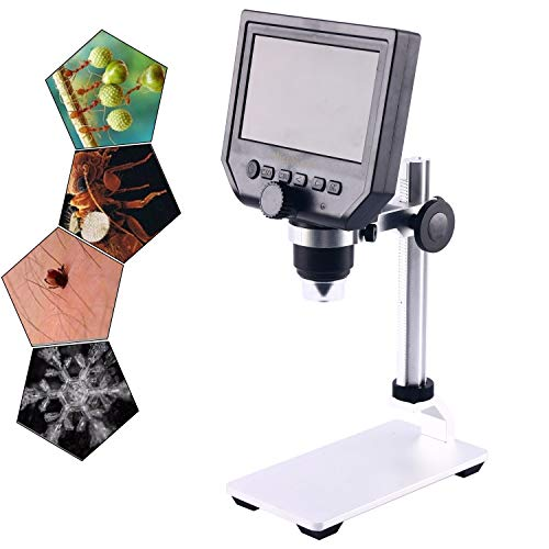 600X 4.3 LCD Display Electronic Digital Microscope for Mobile Phone ()