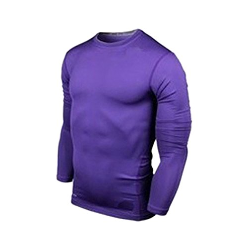 ETOSELL Multi-Color Men Sport T shirt Blouse Compression Base Layer Tight Tops