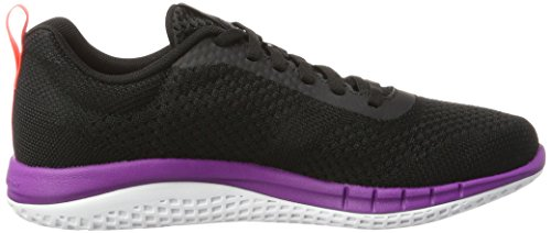 Violet Running Donna Reebok Ultraknit Print guava Nero white black vicious Prime Punch Run Scarpe coal CSCqPwUX