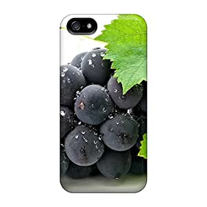 New Style Tpu 5/5s Protective Case Cover/ Iphone Case - Food Berries Fruits Nuts Grapes