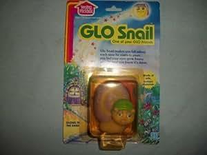 1986 Hasbro Glow Bugs SNAIL Glo Friends Figure NRFP