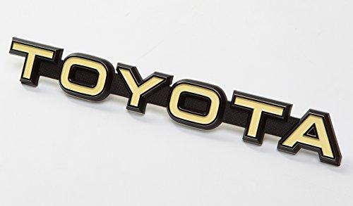Genuine Toyota Emblem for Custom DIY Satoshi Grille Mod LAND CRUISER (BJ40 & FJ40) 74-79 FJ40 Landcruiser