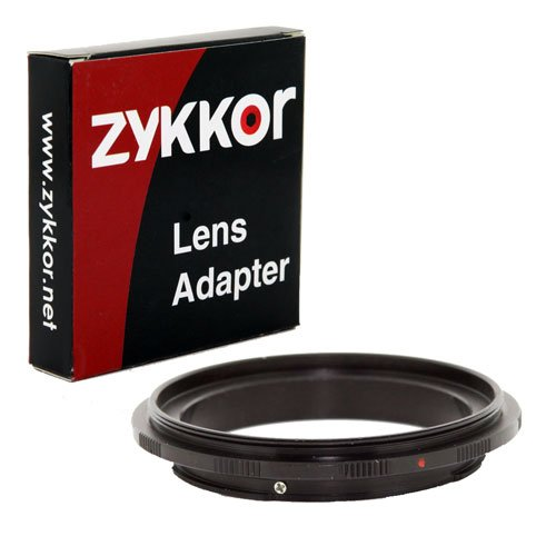 Macro Ring Reverse (Zykkor Macro Reverse Ring Adapter for 58mm Filter Thread Lens to Canon EOS Camera)