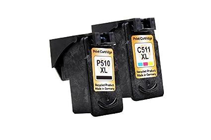 Reciclado para Canon Pixma MX 360 tintas conjunto negro ...