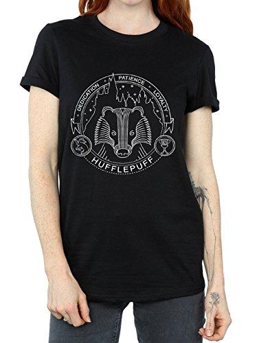 ragazzo Harry Potter Seal shirt di T Tassorosso da Woman EHfwAwIqx