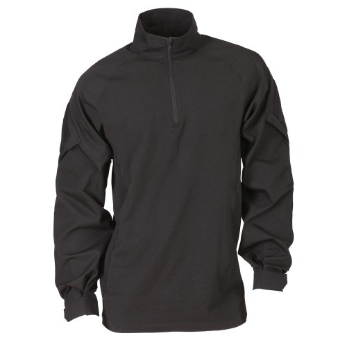 5.11 Tactical Rapid Assault Shirt, Black, (5.11 Tactical Cotton Uniform)