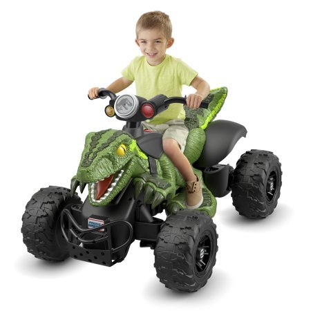 - Let Young Racer Recreate the Exciting,Off-Road Action of the Film with Power Wheels Jurassic World Dino Racer-Green,With Parent-Controlled,High-Speed Lock Out and Power-Lock Brake System
