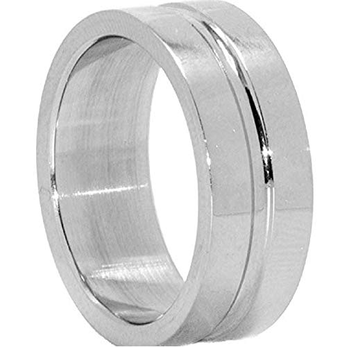 Niche-Finds Supernatural Inspired Dean Winchester Ring Surgical Stainless Steel Size 8 ()