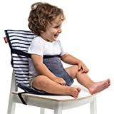 Totseat chaise nomade pour b b motif silver bound denim - Chaise nomade baby to love ...