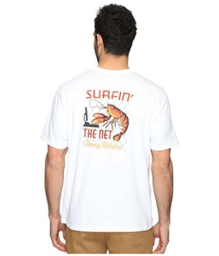 Tommy Bahama Surfin The Net X Large White T Shirt