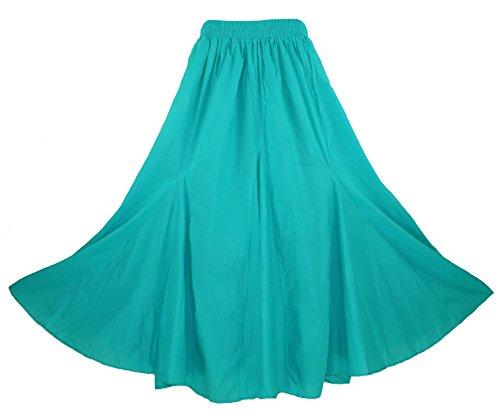 Beautybatik - Jupe - Femme Turquoise