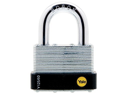 Yale Locks YALY12560 60 mm Laminated Steel Padlock by Yale Locks Toolbank