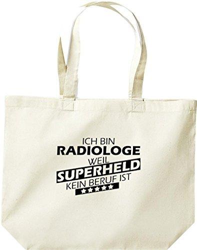 Shirtstown große Bolsa de compra, Estoy Radiólogo, weil Superheld sin Trabajo ist Natural