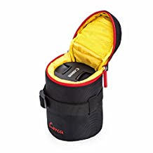 G-raphy Camera Lens Case Pouch Bag Cover for Sony Canon Nikon Pentax Olympus DSLR Cameras