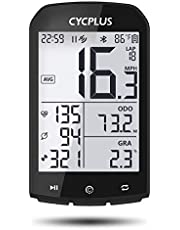 CYCPLUS GPS Bike Computer Waterproof Bicycle Speedometer and Odometer ANT+ Wireless Cycling Computer Compatible with App 2.9 Inch LCD Display with Backlight